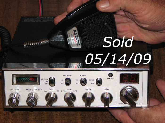 Sold on 05/14/09